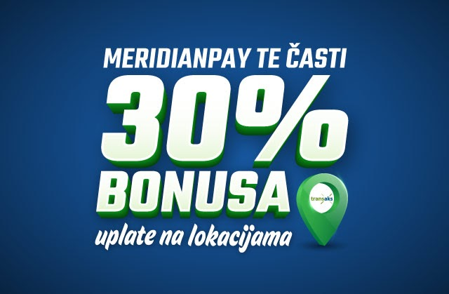 Meridian: Za igru bez stresa - čeka te 30% VIŠE za sportsko klađenje