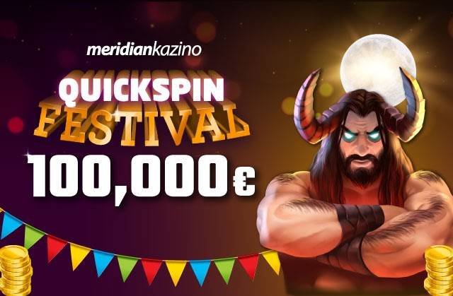 Meridianbet Quickspin Festival: U igri je čak 100.000 evra