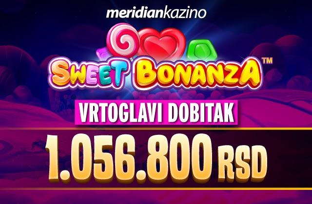 Novi u milioner u Meridian kazinu - pogledajte kako i preuzmite spinove na poklon