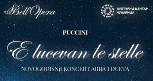 Bell'Opera: E lucevan le stele - Pučinijeve arije za početak 2021. (detalj sa plakata)