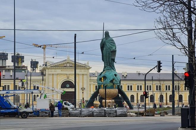 Savski trg - izmene u saobraćaju (foto: Nemanja Nikolić)