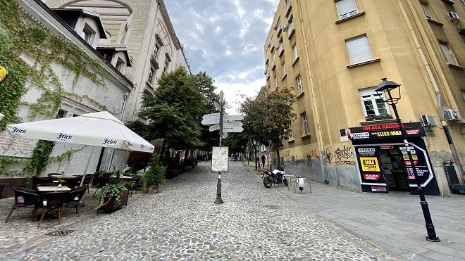 Radovi u Skadarskoj ulici (foto: Aleksandra Prhal)