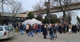 Vikend u Beogradu, 23. i 24. januar 2021: Vakcinacija na Beogradskom sajmu (foto: Nemanja Nikolić)