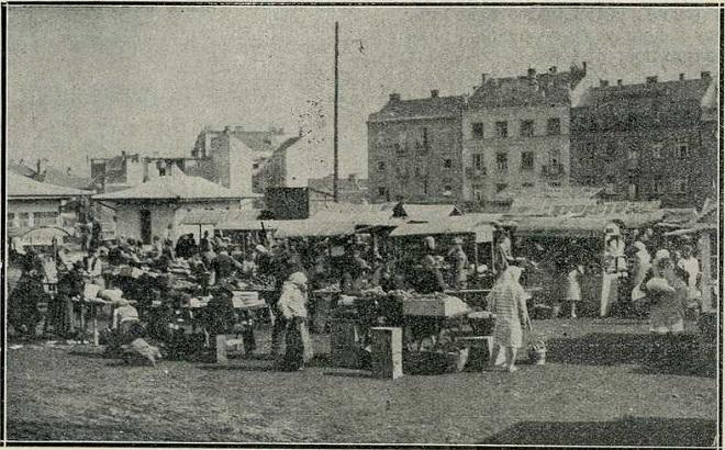 Bajlonijeva pijaca pre 1930. (autor fotografije nepoznat)