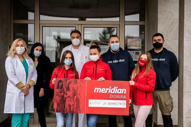 Meridian donirao više od 100 miliona dinara zdravstvu Srbije