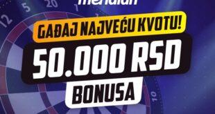Meridian: POGODI NAJVEĆU KVOTU - čekaju te vredne novčane nagrade
