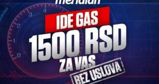 Bonus na klik - čeka te 1500 DINARA za klađenje
