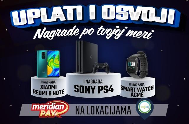 Tiket u Meridianu - Playstation na poklon
