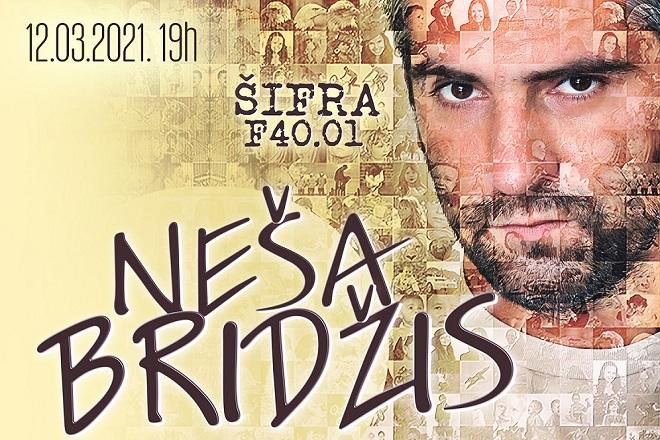Neša Bridžis - stand up show (detalj sa plakata)
