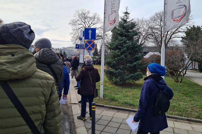 Nove mere bezbednosti i vakcinacija na Sajmu (foto: Nemanja Nikolić)