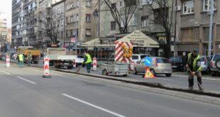 """Cvijićeva: Ozelenjavanje srednje zelene razdelne trake (foto: JKP """"Zelenilo-Beograd"""")"""