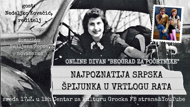 Beograd za početnike: Razgovor o Veri Pešić
