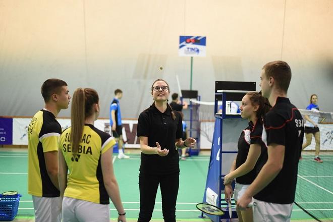 Badminton turniri na Adi Ciganliji (foto: Badminton savez Srbije)