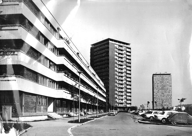 BINA: Fotografija iz arhive Tome Devalda (1921-95), direktora Direkcije za izgradnju Novog Beograda