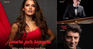 Gala koncert u Kolarcu: Amore per sempre