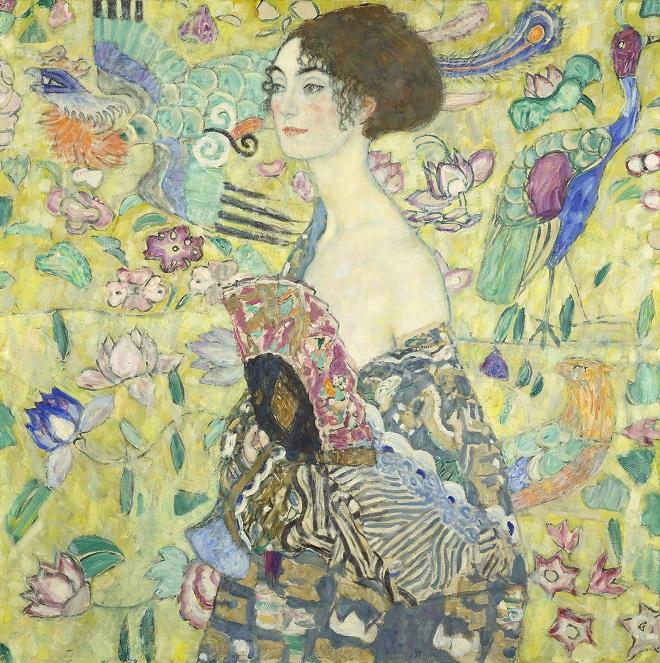 "Klimtova ""Dama sa lepezom"" (foto: © Markus Guschelbauer / Belvedere, Wien)"