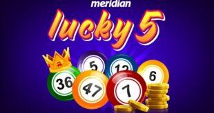 Meridian - Lucky's 5: Potrebno je samo PET SREĆNIH BROJEVA i čeka te neverovatna zarada