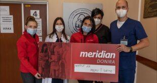Meridian uvek uz svoj narod: Stigla pomoć Institutu za majku i dete