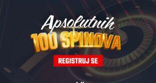 Kazino zabava ne prestaje: Meridian poklanja 100 spinova
