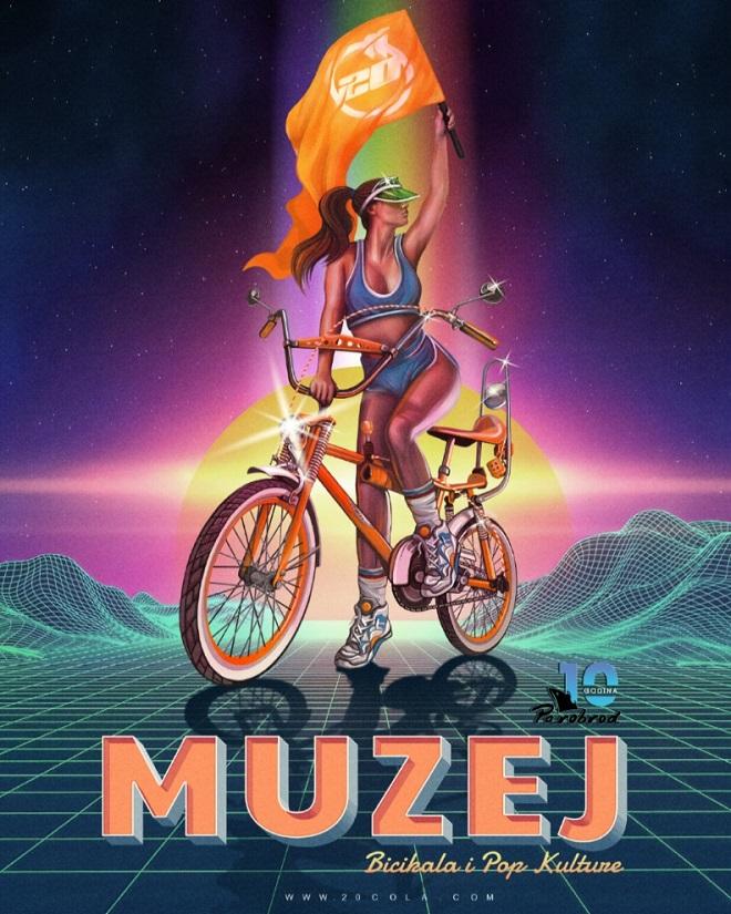 """Muzej bicikala i pop kulture """"20 cola"""" - prvo predstavljanje"""