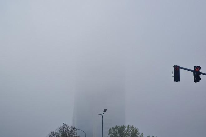 Zagađenje u Beogradu: Uskoro će ovo biti najviša zgrada u Beogradu (foto: Nemanja Nikolić)