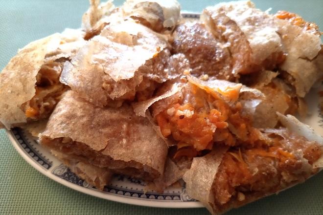 Recepti: Pita sa bundevom i orasima (foto: Nenad Mandić)