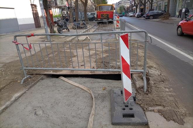 Izmene u saobraćaju i na linijama JGP - radovi u Beogradu (foto: Nenad Mandić)