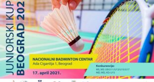 Badminton: Najbolji juniori na Adi Ciganliji