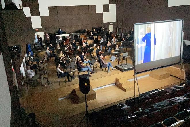 Beogradska filharmonija: neobična proba (foto: Marko Đoković)