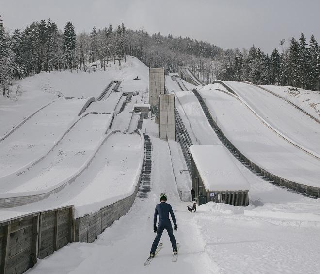 Beogradski mesec fotografije: Vladimir Živojinović - The First Serbian Ski Jumper (foto: promo)