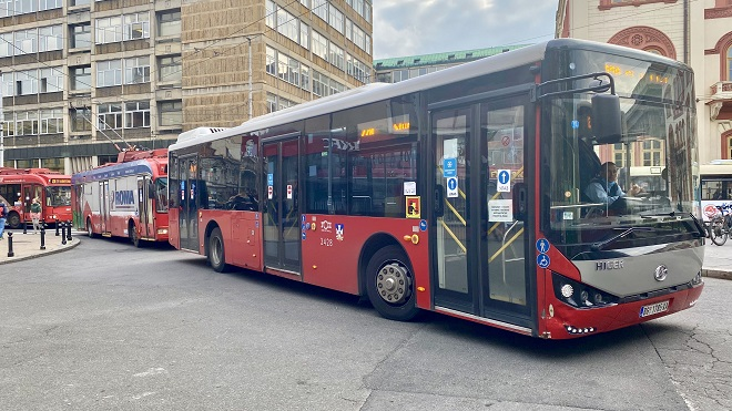 Organizacija javnog gradskog prevoza za praznike (foto: Aleksandra Prhal)