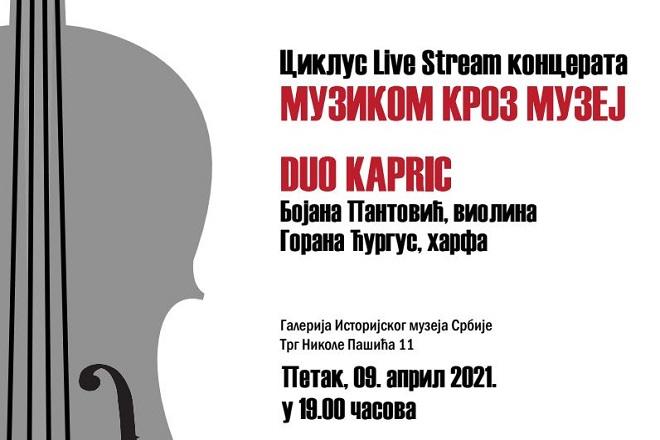 Muzikom kroz muzej: Koncert Dua Kapric