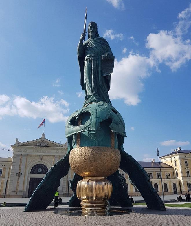 Spomenik Stefanu Nemanji (foto: Milan Miljević)