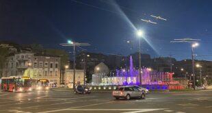 Trg Slavija: Izmene u javnom gradskom prevozu zbog radova (foto: Aleksandra Prhal)