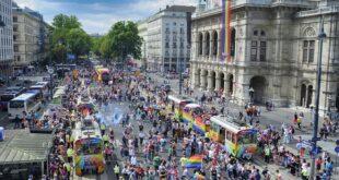 Bečka parada ponosa - Vienna Pride 2021. (foto: © Wiener Linien/Johannes Zinner)
