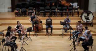 Beogradska filharmonija: Betovenova simfonija za samo devet muzičara (foto: Marko Đoković)