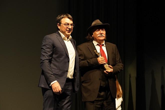 Jugoslav Pantelić i Rade Šerbedžija (foto: Željko Sinobad)