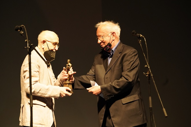 Puriša Đorđević i Borislav Anđelić (foto: Željko Sinobad)