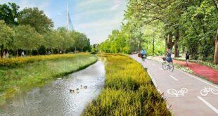 Kritična masa: Predlog biciklističke staze pored Topčiderske reke