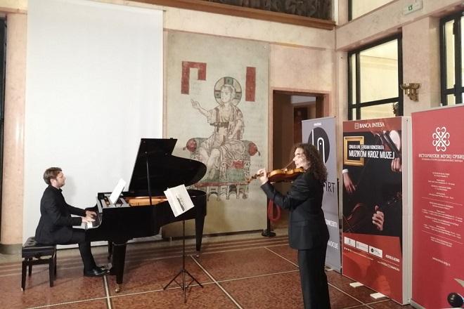 Muzikom kroz muzej: Koncert dua Shake & Spear (foto: IMS)