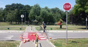 Beogradska Kritična masa: Bicikl i Ada