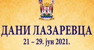 Dani Lazarevca 2021