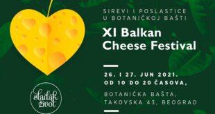 Festival sireva i poslastica 26. i 27. juna 2021. u Botaničkoj bašti