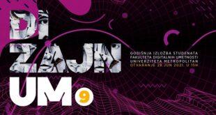 Digitalna godišnja izložba FDU DizajnUM9