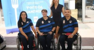 Super Vero ugostio šampione: Nada Matić, Borislava Perić Ranković, Mitar Palikuća i Maja Kosić Vučković (foto: Super Vero)