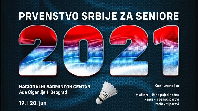 28. Prvenstvo Srbije za seniore u badmintonu