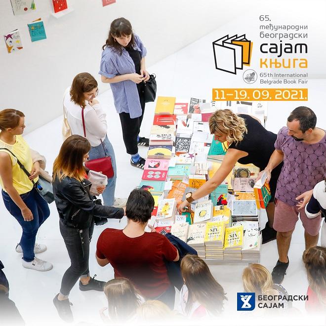 Sajam knjiga 2021 u Beogradu