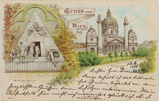 Bečki muzej traži čitače razglednica (foto: © Wien Museum)