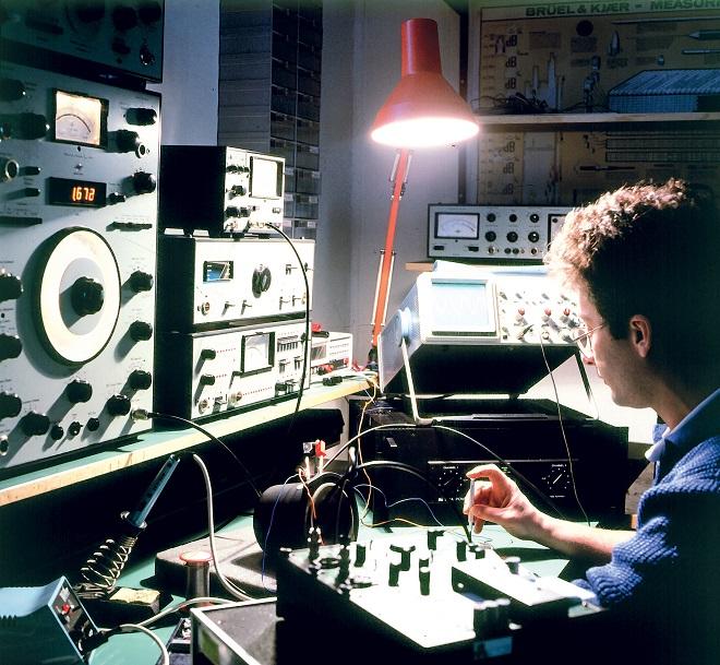 """Deo istraživačke-razvojne laboratorije u """"Lola Audio"""""""