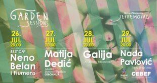 Garden Sessions u Botaničkoj bašti (jul 2021)